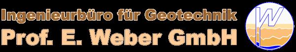 Ingenieurbüro für Geotechnik Prof. E. Weber GmbH Logo